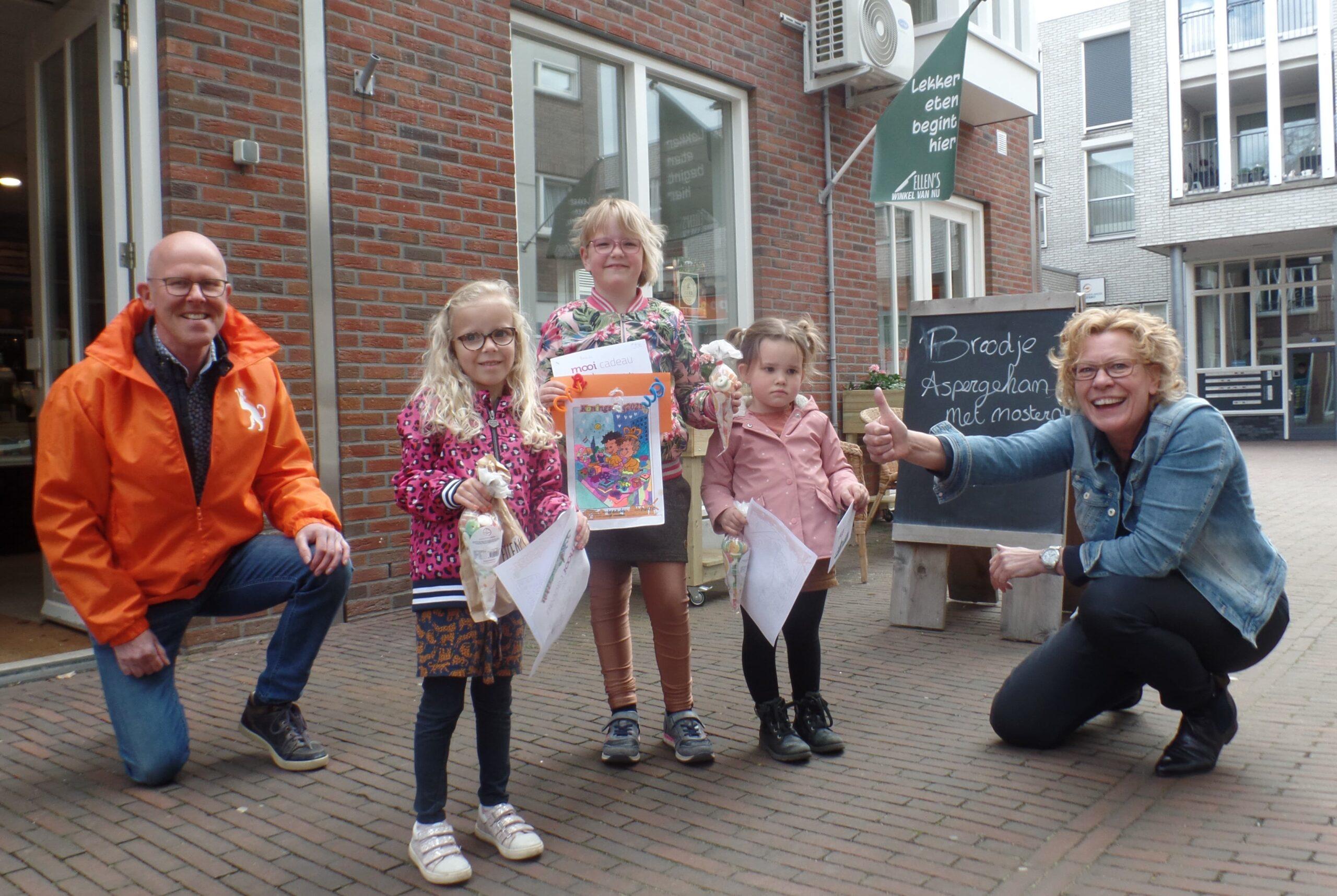 Prijswinnaars Koningsdag kleurwedstrijd